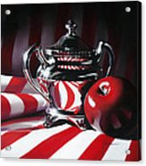 Red White And Apple Acrylic Print