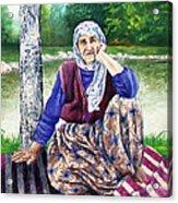 Resting - Descansar Acrylic Print