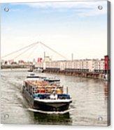 Rhine (Rhein) - Ludwigshafen - Mannheim Acrylic Print