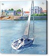Ride At Saint Gilles Acrylic Print