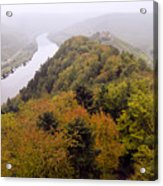 River Moselle in Autumn Acrylic Print