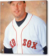 Roger Clemens Acrylic Print