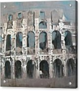 Roma Colosseo Acrylic Print