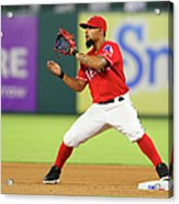 Rougned Odor Acrylic Print