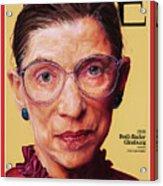 Ruth Bader Ginsburg, 1996 Acrylic Print