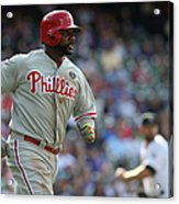Ryan Howard Acrylic Print