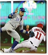 Ryan Zimmerman and Javier Baez Acrylic Print