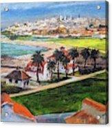 San Francisco From Crissy Field Overlook Acrylic Print