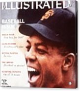 San Francisco Giants Willie Mays Sports Illustrated Cover Acrylic Print
