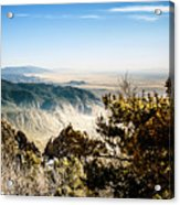 Sandia Mountains - View from the Sandia Crest Acrylic Print