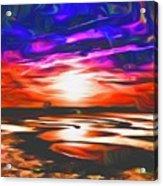 Sands Beach Acrylic Print