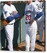 Sandy Koufax and Don Sutton Acrylic Print