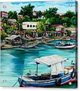 Sanfernando Wharf Acrylic Print