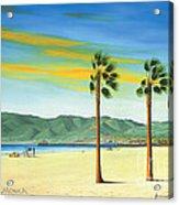Santa Monica Acrylic Print