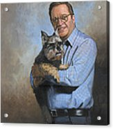 Scooter And Me Acrylic Print