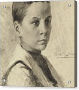 Self-portrait, 1899 Acrylic Print