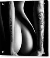 Sensual Nude Woman 4 Acrylic Print