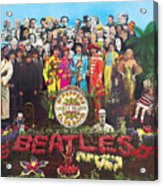 Sgt. Pepper's Lonely Hearts Club Band by The Beatles Acrylic Print