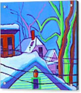 Sheffield Winter Acrylic Print