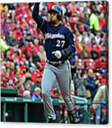 Shelby Miller and Carlos Gomez Acrylic Print