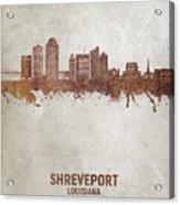 Shreveport Louisiana Skyline #50 Acrylic Print