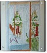 Simple Country Christmas Acrylic Print