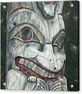 Sitka Totem-alaska Acrylic Print