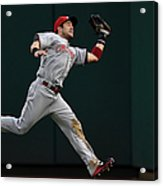 Skip Schumaker and Anthony Rendon Acrylic Print
