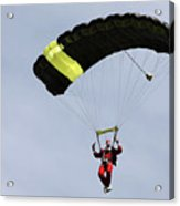 Skydiving Santas Launch New Experiences Website Acrylic Print