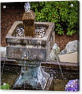 Source of Water Flow Acrylic Print