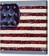 Speggetti Flag Acrylic Print