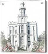 St George Temple - Celestial Series Acrylic Print