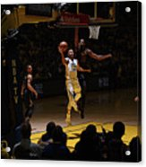 Stephen Curry and Tristan Thompson Acrylic Print