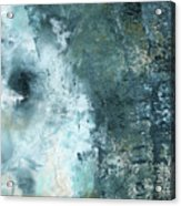 Summer Storm- Abstract Art by Linda Woods Acrylic Print