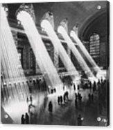 Sun Beams Into Grand Central Station Acrylic Print
