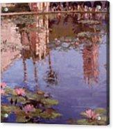 Sunday Reflections - Balboa Park Acrylic Print