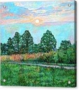 Sunset Near Fancy Gap Acrylic Print