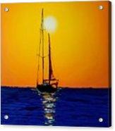 Sunset Sails #10 Acrylic Print