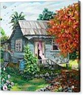 Sweet Tobago Life.  2 Acrylic Print