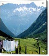 Swiss Laundry Acrylic Print