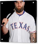 Texas Rangers Photo Day Acrylic Print