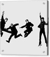 The Beatles Jump Acrylic Print