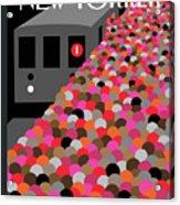 The Commute Acrylic Print