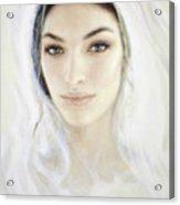 The Face of Mary Acrylic Print