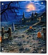 The Haunted House Acrylic Print
