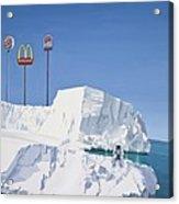 The Iceberg Acrylic Print