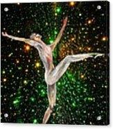 The Light Fantastic Dance and Stars Acrylic Print
