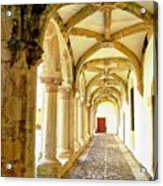 The Red Door in the Loggia Acrylic Print