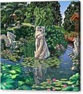 The Romance Garden Acrylic Print