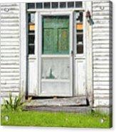 The Sawyer House - Franklin New Hampshire Acrylic Print